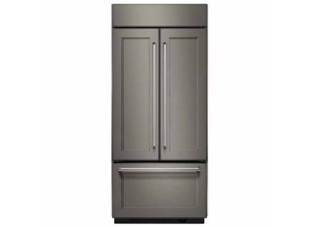 KitchenAid 20.8 Cu. Ft. Panel Ready Built-In French Door Refrigerator  - KBFN506EPA