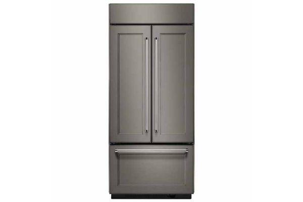 KitchenAid 20.8 Cu. Ft. Panel Ready Built-In French Door Refrigerator  - KBFN506EPA