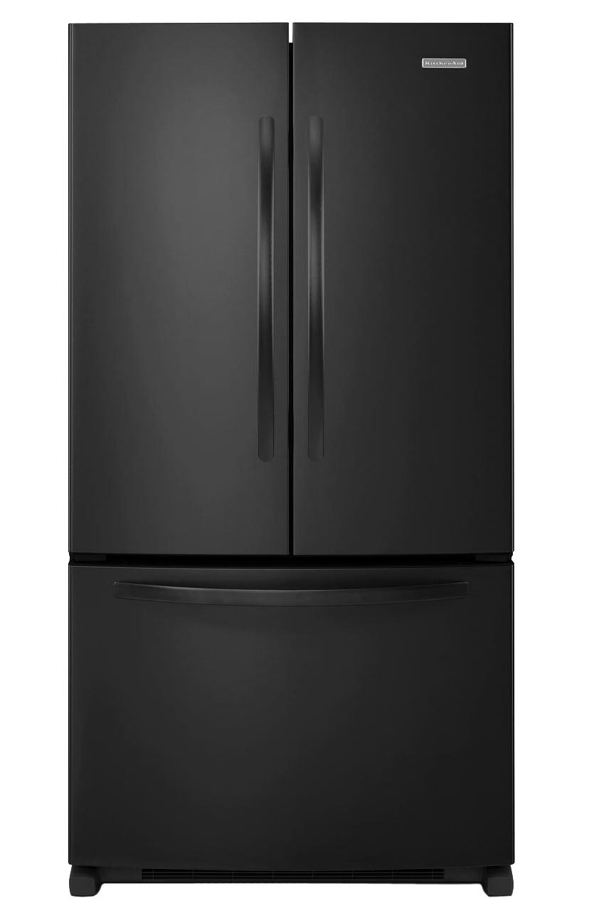 Kitchenaid 20 Cuft French Door Refrigerator Kbfs20ecbl