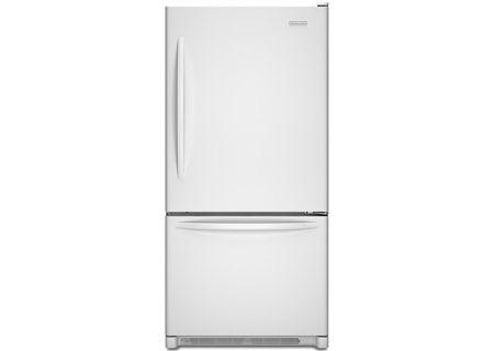 KitchenAid - KBRS22KWWH - Bottom Freezer Refrigerators