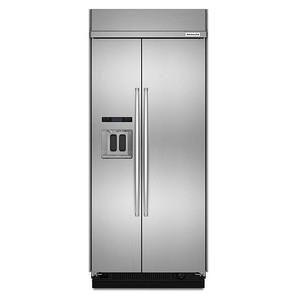 Kitchenaid 36 Quot Built In Refrigerator Kbsd606ess