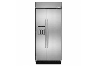 KitchenAid - KBSD606ESS - Built-In Side-by-Side Refrigerators