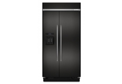KitchenAid - KBSD608EBS - Built-In Side-by-Side Refrigerators