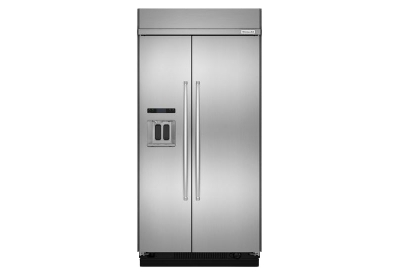 KitchenAid - KBSD608ESS - Built-In Side-by-Side Refrigerators
