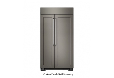 KitchenAid - KBSN602EPA - Built-In Side-by-Side Refrigerators