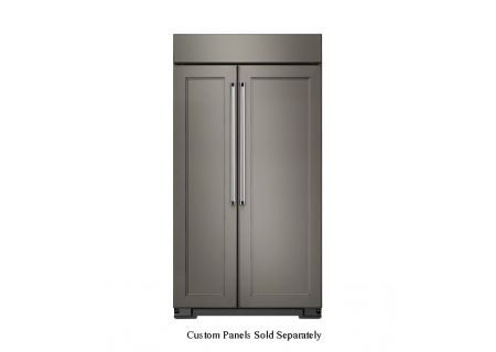 KitchenAid - KBSN602EPA - Built-In Side-by-Side Refrigerators