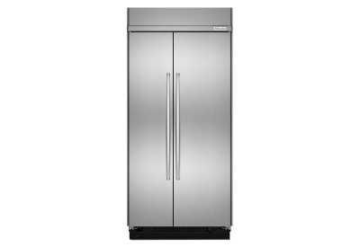 KitchenAid - KBSN602ESS - Built-In Side-by-Side Refrigerators