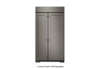 KitchenAid - KBSN608EPA - Built-In Side-by-Side Refrigerators