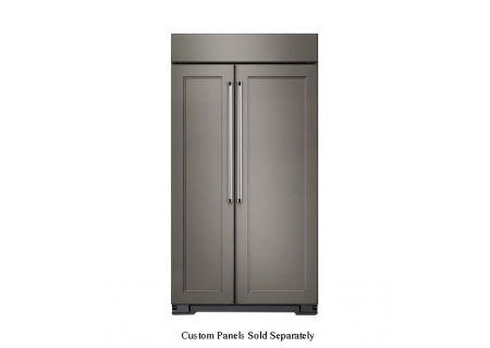 KitchenAid - KBSN608EPA - Built-In Side-by-Side Refrigerators