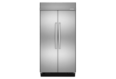 KitchenAid - KBSN608ESS - Built-In Side-by-Side Refrigerators