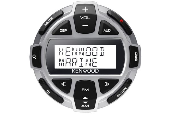 Large image of Kenwood Rounded Wired Marine LCD Remote - KCA-RC55MR