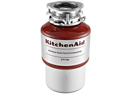 KitchenAid Red Garbage Disposal - KCDI075B