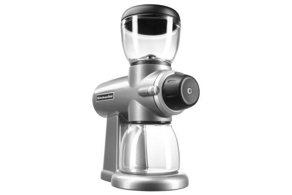 KitchenAid Contour Silver Burr Grinder - KCG0702CU