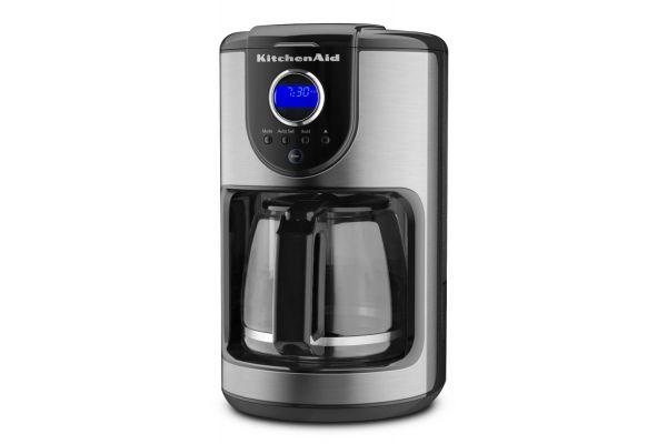 KitchenAid Onyx Black 12 Cup Glass Carafe Coffee Maker - KCM111OB