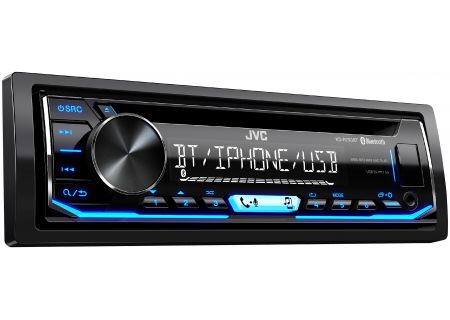 JVC Single DIN CD Receiver With Bluetooth - KD-R790BT