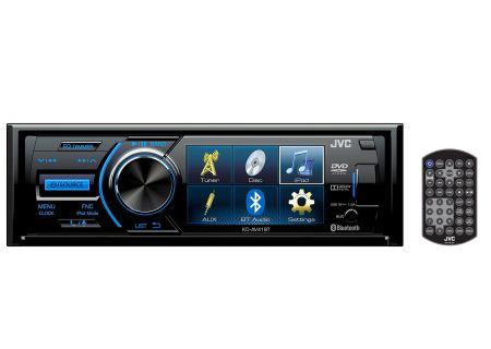 JVC Single DIN AV Receiver With Bluetooth - KD-AV41BT