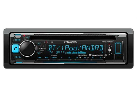 Kenwood - KDC-X300 - Car Stereos - Single DIN