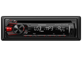 Kenwood - KDC118U - Car Stereos - Single Din