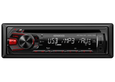 Kenwood - KDC118U - Car Stereos - Single DIN