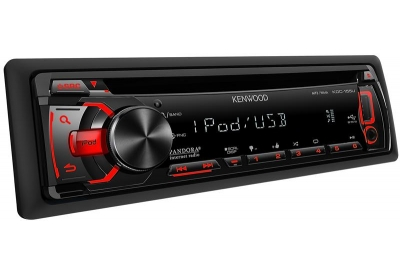 Kenwood - KDC-155U - Car Stereos - Single Din
