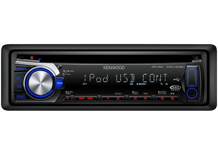 Kenwood - KDC-348U - Car Stereos - Single DIN