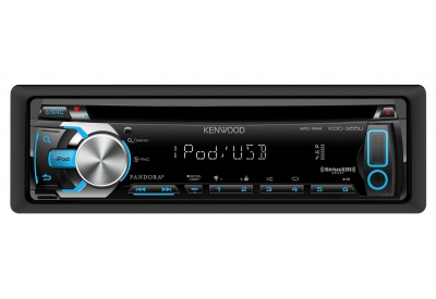 Kenwood - KDC-355U - Car Stereos - Single Din