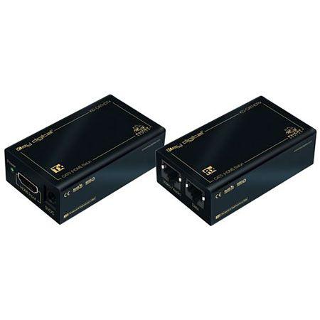 02cd0104654a Key Digital HDMI DVI To Dual CAT5 5e 6 Cable Extender - KD-CATHD - Abt