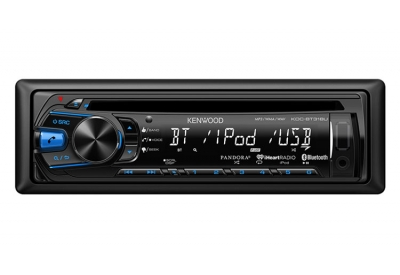 Kenwood - KDC-BT318U - Car Stereos - Single Din