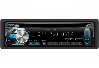 Kenwood - KDC-BT555U - Car Stereos - Single Din