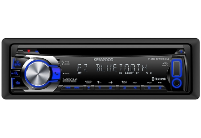 Kenwood - KDC-BT652U - Car Stereos - Single Din
