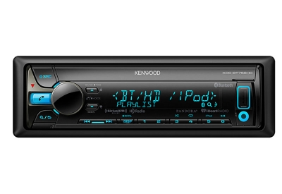 Kenwood - KDC-BT758HD - Car Stereos - Single Din