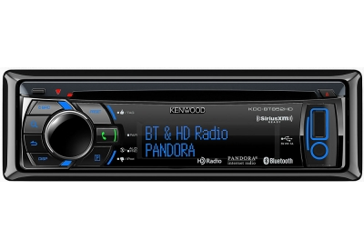 Kenwood - KDC-BT852HD - Car Stereos - Single Din