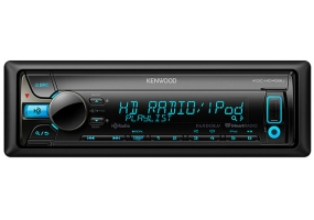 Kenwood - KDC-HD458U - Car Stereos - Single Din