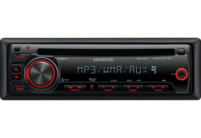 Kenwood - KDC-MP145 - Car Stereos - Single DIN