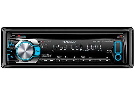 Kenwood - KDC-X396 - Car Stereos - Single DIN