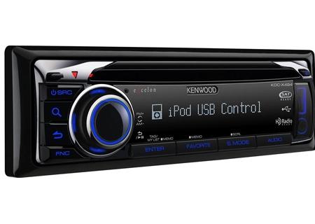 Kenwood - KDC-X494 - Car Stereos - Single DIN