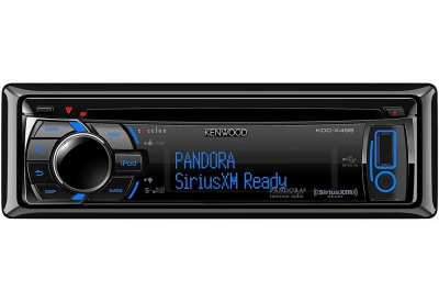 Kenwood - KDC-X496 - Car Stereos - Single DIN