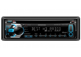 Kenwood - KDC-X497 - Car Stereos - Single Din