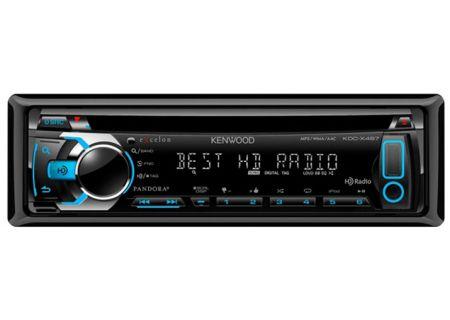 Kenwood - KDC-X497 - Car Stereos - Single DIN