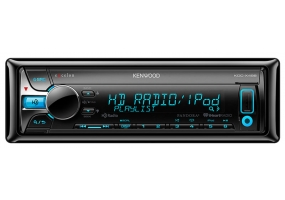 Kenwood - KDC-X498 - Car Stereos - Single Din