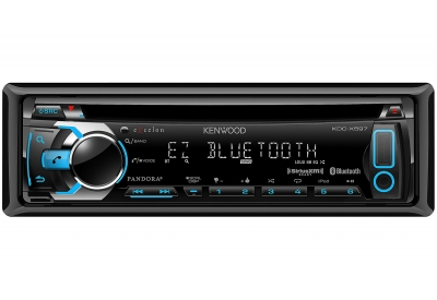 Kenwood - KDC-X597 - Car Stereos - Single DIN