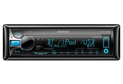 Kenwood - KDC-X598 - Car Stereos - Single DIN
