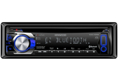 Kenwood - KDC-X696 - Car Stereos - Single Din