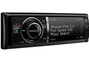 Kenwood - KDC-X794 - Car Stereos - Single Din