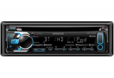 Kenwood - KDC-X797 - Car Stereos - Single Din