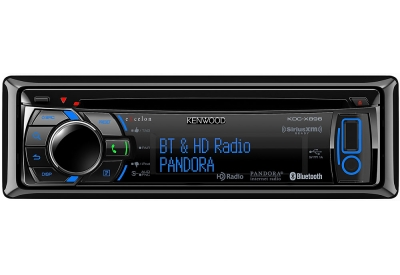 Kenwood - KDC-X896 - Car Stereos - Single Din