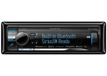 Kenwood In-Dash Bluetooth Car Stereo Receiver - KDC-X898