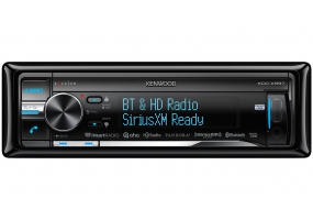 Kenwood - KDC-X997 - Car Stereos - Single Din