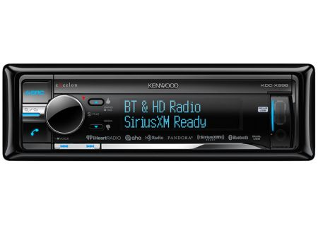 Kenwood In-Dash Bluetooth Car Stereo Receiver - KDC-X998