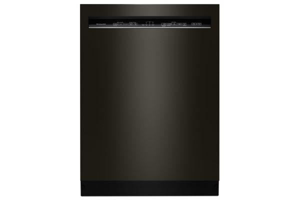 "Large image of KitchenAid 24"" Black Stainless Built-In Dishwasher  - KDFE104HBS"